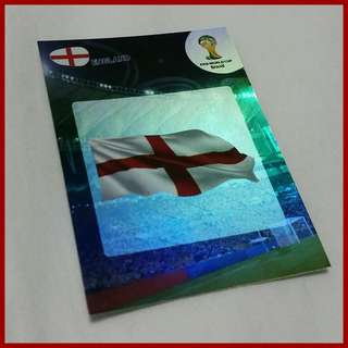 ⚽ England - FIFA World Cup 2014 Brasil Trading Cards