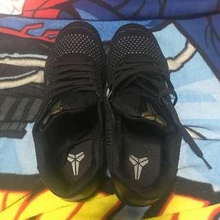 Nike Kobe 11 black and gold