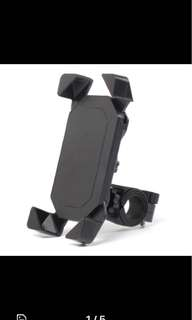 Mobile phone holder (Handlebar mount support for all phones)