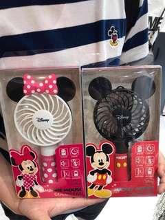 韓國直送迪士尼手提風扇