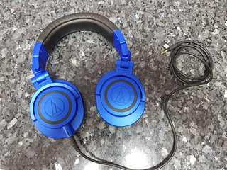 Audio Technica ATH-M50x Limited Edition Blue-Black