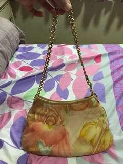 Salvatore Ferragamo Floral Peach Bag