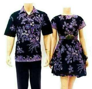 Batik sarimbit dress / Couple