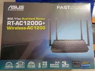 🚚 (BNIB) ASUS RT-AC1200G+ Router