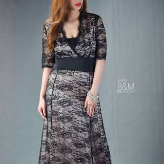 Classic Lace Long Gown