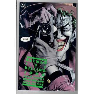 🚚 Batman: The Killing Joke TPB 1988 Print