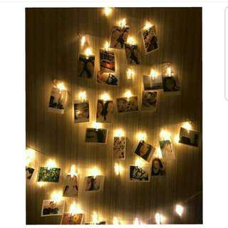 Brand New Photo clippers String light!