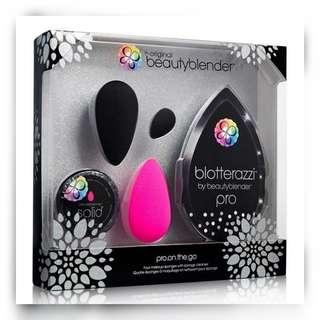 (PO) Beautyblender® Pro On The Go 5-Piece Set (Black) 1505(SPB) ⊷⊷⊷⊷⊷⊷⊷⊷† AUTHENTIC