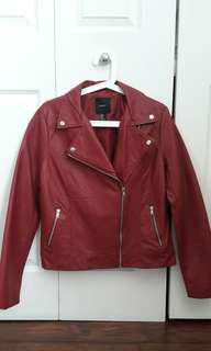 Forever 21 Faux Leather Jacket (Size M)