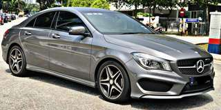 Mercedes cla250 amg 2014 sambung bayar or continue loan