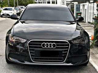 Audi A6 2.0T 2013 sambung bayar or continue loan