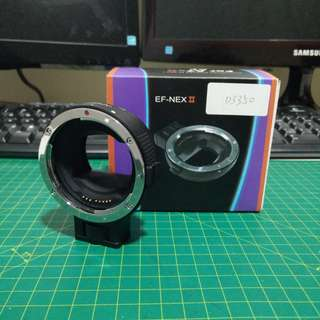 Lens Adaptor - (E mount to Canon EF lens)