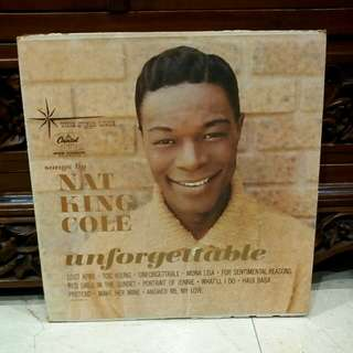 Lp...Vinyl...Nat King Cole - Unforgettable
