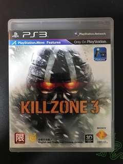 Killzone 3 PS3 Original CD - Very Seldom Used!