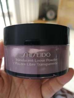 shiseido transparent loose powder