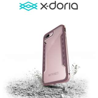 🚚 X-DORIA Defense Shield Rose Gold Case for Iphone 7/8