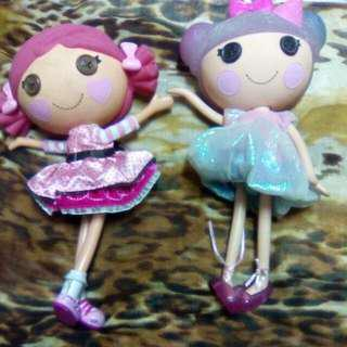 2nd Hand But Not Abused Lala Loopsie Dolls