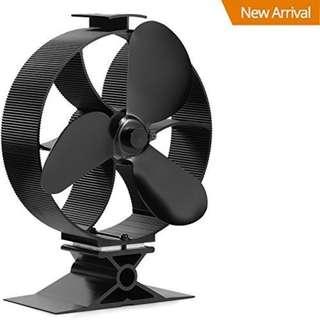 803.2017 New Heat Powered Stove Top Fan Wood Stove Fan