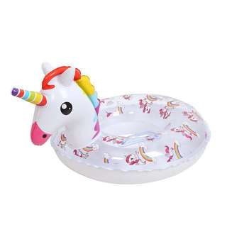 preorder - Unicorn swimming float w handles for kids