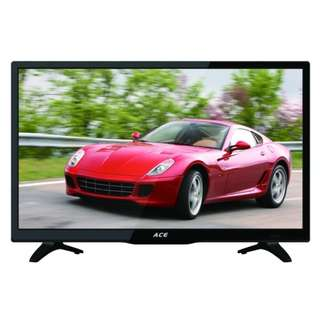 "#25 Ace 24"" Super Slim Full HD LED TV Black LED"