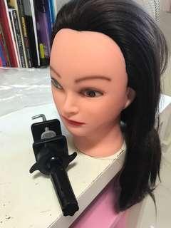 mannequin head hair plus accessories