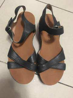 STACCATO leather sandals size 36