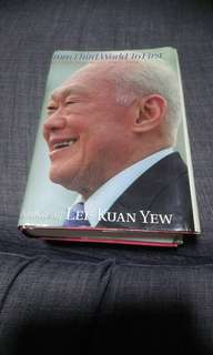 Lee Kuan Yew LKY Autobiography: From Third World to First. The Singapore Story 1965-2000. PAP / Politics / Football / Soccer / Jersey / Polo / Tee / Shirt