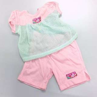 [BNWT - Pureen] Matching Set - Top and Bottom for Babies.