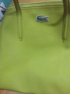 Lacoste Concept Large Zip tote bag pre owned