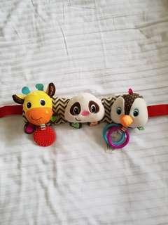 Infantino stroller toys
