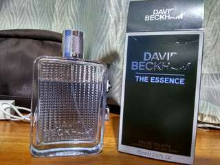 "David Beckham ""The Essence"""