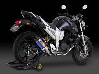 Yamaha FZ16 (Yoshi Titanium Blue)