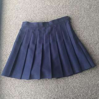 Brand New Authentic American Apparel Pleated Tennis Mini Skirt