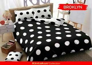 Bedcover set kintakun Dluxe king