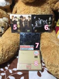 DBSK/TVXQ Albums