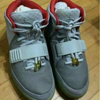 [100%REAL] Nike Yeezy 2 Pure Platinum
