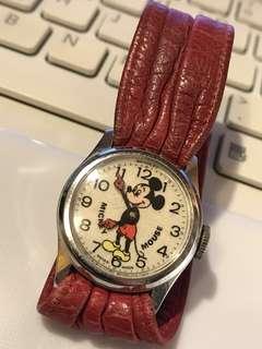 70年代米奇老鼠上鍊錶