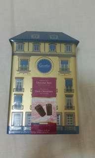 Chocolat noir(dark chocolate crispy roll)