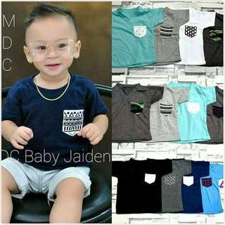 BASiC TEES FOR KiDS P240 ! ( 2pcs na po sya ) Freesize/Onesize/Fits 3-5yrs old Cotton Fabric Limited Stocks Only ! Code : Esy