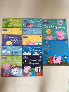 Peppa Pig 圖書 12本