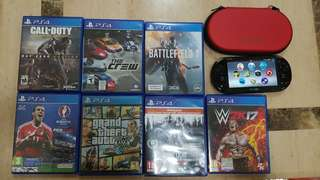 Ps4 Games gta 5 - dying light - battlefield 1 - cod - pes - the crew - wwe