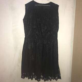 Black Party Dress (no brand)