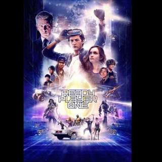[Rent-A-Movie] READY PLAYER ONE (2018) (Admin's Choice)