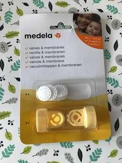 100% 全新Medela 配件 - 鴨咀 (valves and membranes)