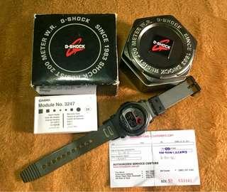 Original G shock G-001-8CDR Jason Edition