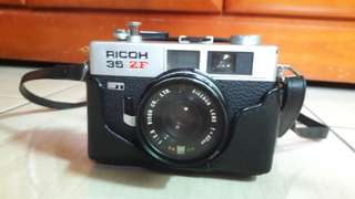 🚚 RICHO 35 ZF 古董相機