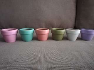 Candy Clay Pots