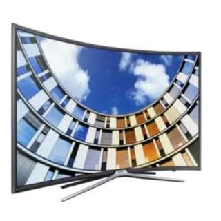 "#26 Samsung 49"" FHD Curved Smart TV Series 6"