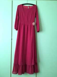 Poplook dress pink