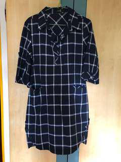 Res2 Checkers dress